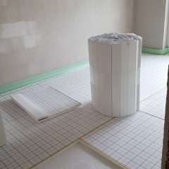 Isolierung Fußbodenheizung