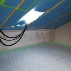 Leinwand Dachboden