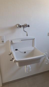 Waschbecken Heizraum