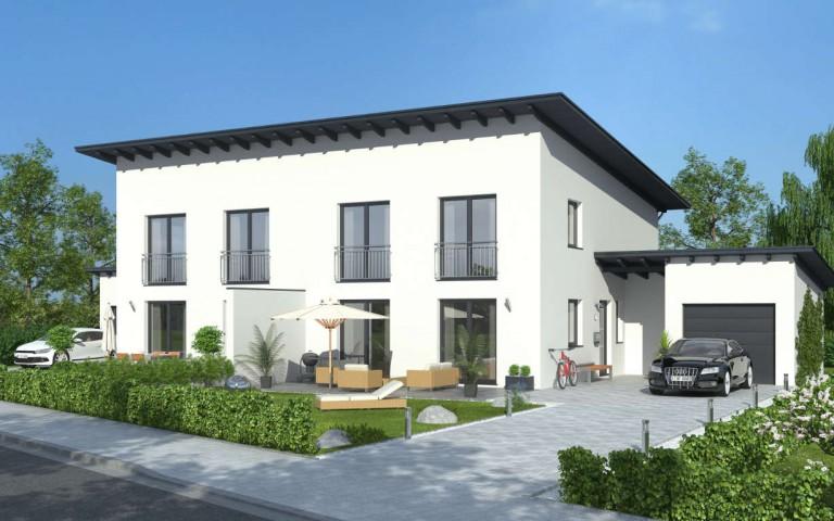 Favorit Doppelhaus mit Pultdach in Pfarrkirchen - verkauft! - Denkmayr SD47