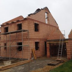 Rohbau ohne Dach