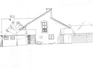Architektenhaus mit uneinsehbarem Grundstück – verkauft!